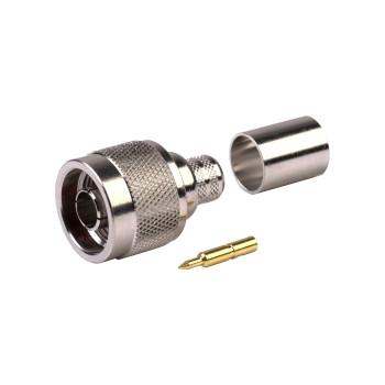 Роз'єм Anycell NM01-RG8 для кабелю RG-8 (обжимний)