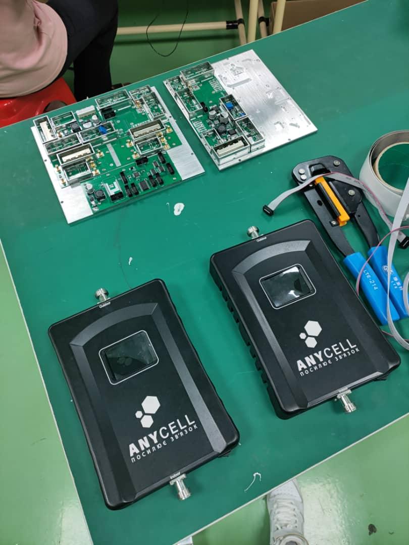 Власне виробництво репітерів Anycell
